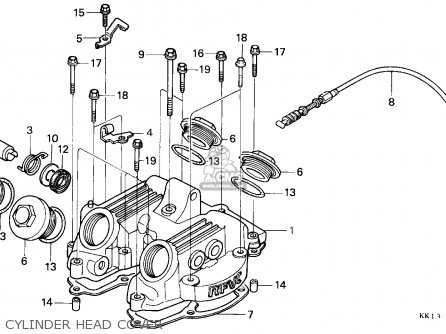 honda xr250r 1990 l canada parts lists and schematics rh cmsnl com