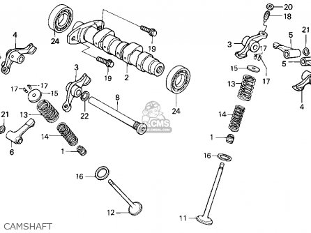 Honda Xr250r Parts Diagram on honda cb175 parts