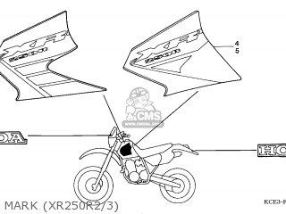 honda xr250r 2002 2 australia ssw parts lists and schematics Xr250 Logo Tank mark xr250r2 3