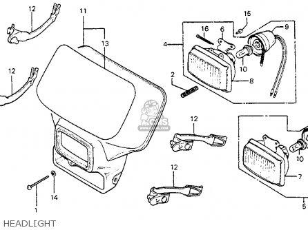 83 Honda Xr350r Repair Manual 61144