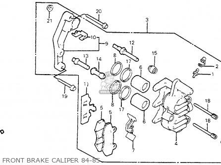 Honda Xr350r 1984 E Usa Parts Lists And Schematics