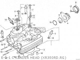 Pleasant Honda Xr350R 1986 G Parts Lists And Schematics Wiring Database Denligelartorg