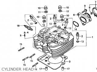 honda xr400r 1997 (v) usa parts lists and schematics