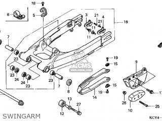 honda xr400r 1997 (v) usa parts lists and schematicshonda xr400r 1997 (v) usa swingarm
