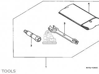 honda xr400r 1997 (v) usa parts lists and schematicshonda xr400r 1997 (v) usa tools