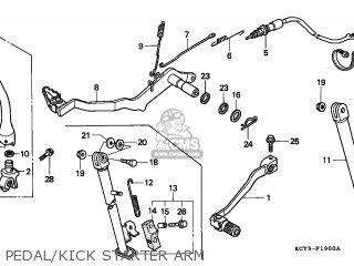 Honda XR400R 1999 (X) EUROPEAN DIRECT SALES parts lists ...