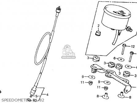 Honda Xr500r 1981 b Usa Speedometer 81-82