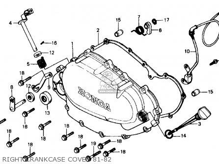 Honda Xr500r 1982 C Usa Parts Lists And Schematics
