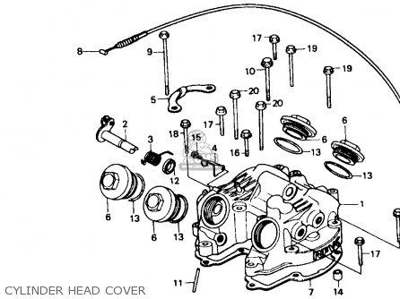 Honda Xr600r 1985 f Usa Cylinder Head Cover
