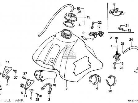 Honda Xr600r 1986 G Belgium Parts Lists And Schematics