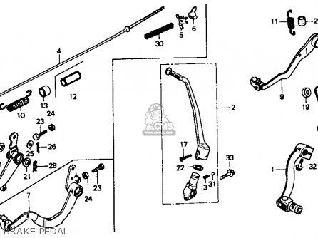 honda xr600r 1988 j usa parts lists and schematics. Black Bedroom Furniture Sets. Home Design Ideas