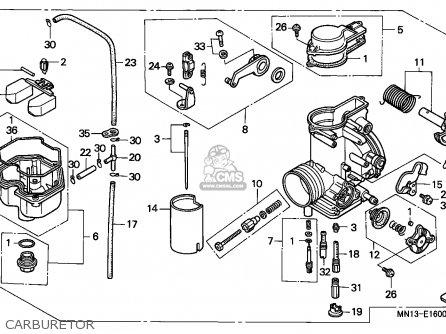 honda xr600r 1993 p belgium carburetor_mediumecn1p41e__1600_10c7 xr600r wiring diagram all wiring diagram