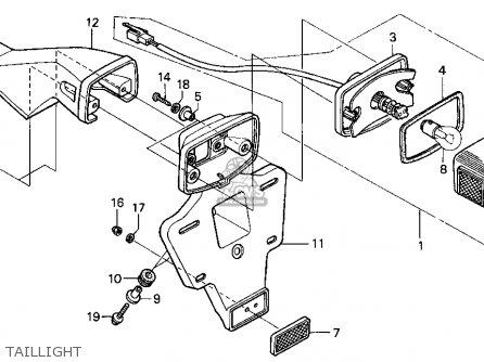 honda xr650l 1993 p usa parts list partsmanual partsfiche. Black Bedroom Furniture Sets. Home Design Ideas