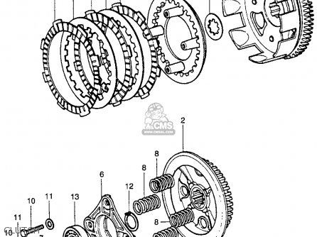 Honda Xr75 Rear Diagram on Honda Xr 200 Wiring Diagram