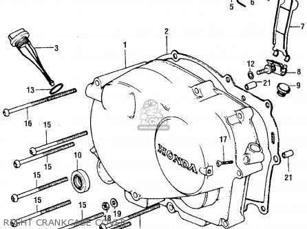 Diagrama Honda Xr75