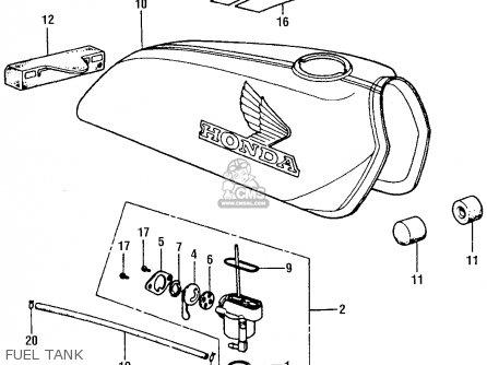 Honda Cl 360 Wiring Diagram