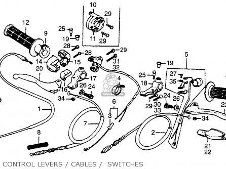 honda xr80 1979 z usa parts list partsmanual partsfiche. Black Bedroom Furniture Sets. Home Design Ideas