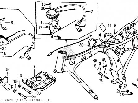 Honda Xr 80 Wiring Diagram