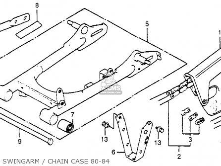 Honda Xr80 1982 C Usa Parts Lists And Schematics