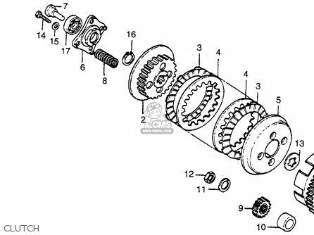 Honda Xr80 Carb Diagram