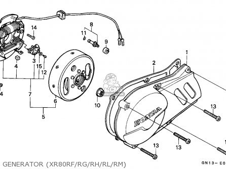 wiring diagram 2001 honda xr80