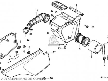 Honda Xr80r 1987 (h) Australia parts list partsmanual ...