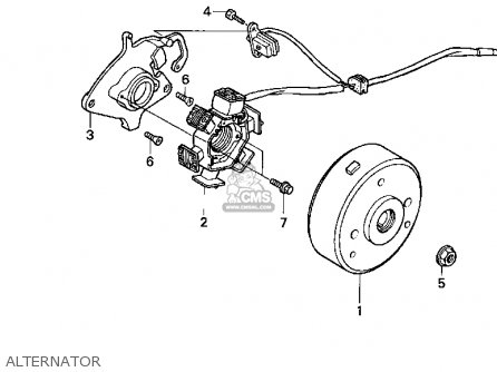 honda xr80r 1997 usa parts list partsmanual partsfiche. Black Bedroom Furniture Sets. Home Design Ideas