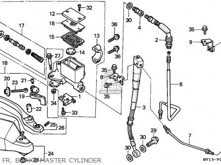 Honda Xrv750 Africa Twin 1994 (r) Switzerland parts list ...