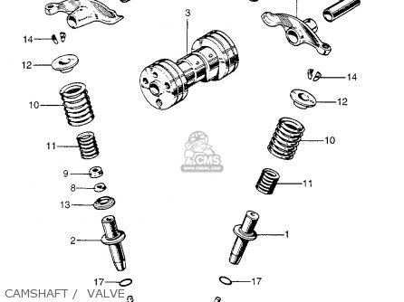 honda z50a mini trail 1968 z50ak0 usa parts lists and schematics 1968 Honda 50 Mini Bike honda z50a mini trail 1968 z50ak0 usa camshaft valve