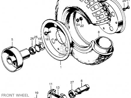 Honda Z50 Oil Pump Diagram on international 4300 wiring diagram