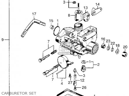 Honda Z50a Mini Trail K1 1969 1970 Usa Carburetor Set