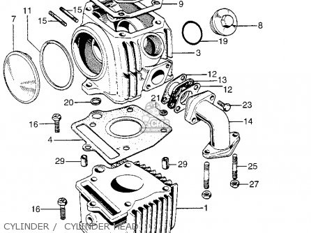Groovy Honda Z50A Mini Trail K1 1969 1970 Usa Parts Lists And Schematics Wiring 101 Cabaharperaodorg
