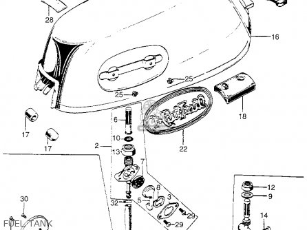 Honda Z50a on honda ct90 parts diagram