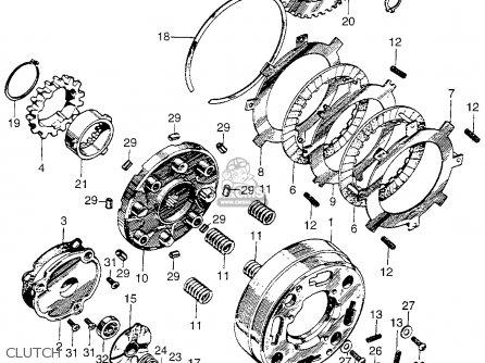 honda ct 70 k3 clutch assembly diagram 1985 honda atc 70 wiring #6