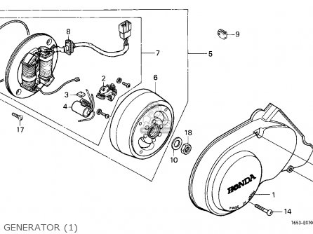 1981 Honda Cb900f Wiring Diagram additionally Partslist also Light Switch Differences together with Partslist besides 2242084071 Moteur 250 XL En Eclate. on honda monkey wiring harness