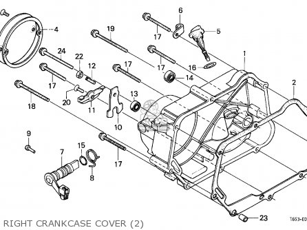 Honda Z50 Oil Pump Diagram