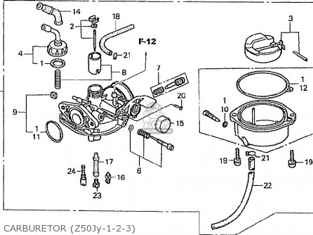 Honda z50j1 monkey japan parts lists and schematics carburetor z50jy 1 2 3 swarovskicordoba Gallery