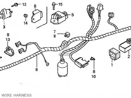 Honda z50j1 monkey japan parts lists and schematics honda z50j1 monkey japan wire harness swarovskicordoba Gallery