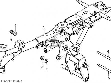 Honda Qa50 Parts Diagram