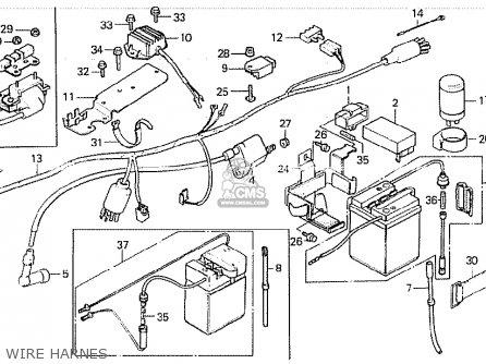 honda z50je monkey finland parts list partsmanual partsfiche razor monkey bike wiring diagram