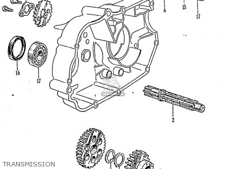 Honda Z50 Oil Pump Diagram