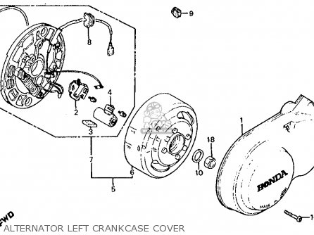 honda z50r wiring honda crf wiring diagram honda z50r 1980 usa parts list partsmanual partsfiche