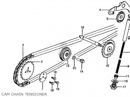 honda z50r 1984 (e) usa parts lists and schematics Honda Z50 Oil Pump Diagram