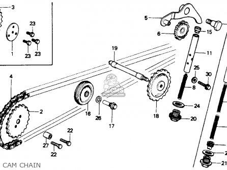 Honda Z50r 1991 m Usa Cam Chain