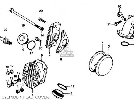 Honda Z50r 1991 m Usa Cylinder Head Cover