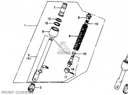Honda Z50r 1991 m Usa Front Cushion