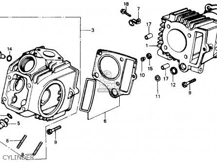 Honda Z50r 1991 Usa Cylinder