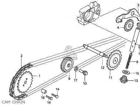 Honda Z R V Usa Cam Chain Mediumhu E B F