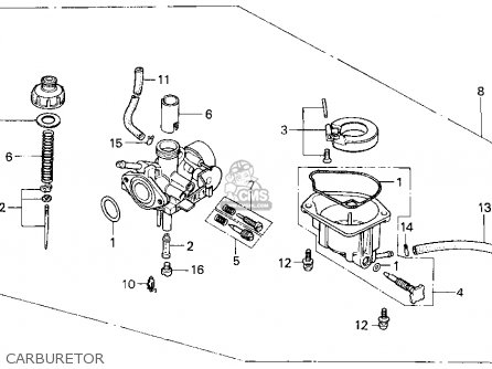 honda z50r 1999 (x) usa parts list partsmanual partsfiche 1974 honda cb450 wiring diagram