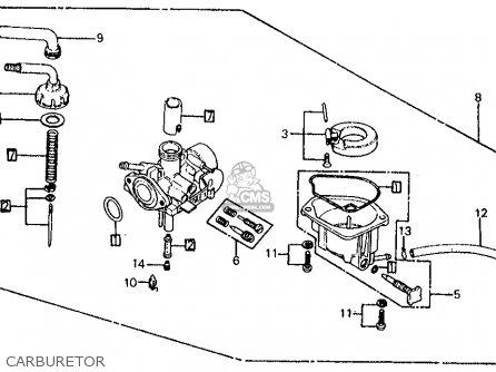 Honda Z50r Monkey  Gorilla 1979 z Usa Carburetor